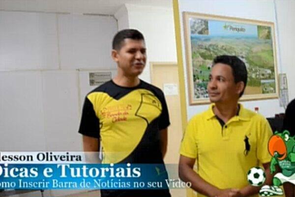 Como Inserir Faixa Jornalística nos vídeos - Veja como editar vídeos inserindo Faixa Jornalística