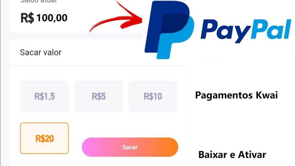 KWAI Sacar no Paypal: Como sacar dinheiro do kwai no paypal? Veja como sacar dinheiro do kwai direto na sua conta Paypal